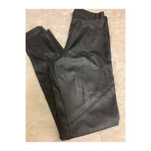 DIVIDED by H&M faux leather leggings